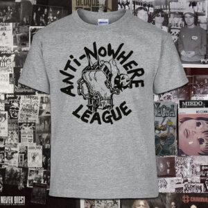 Polera serigrafia Anti-Nowhere League