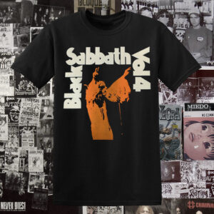 Polera Black Sabbath Vol4