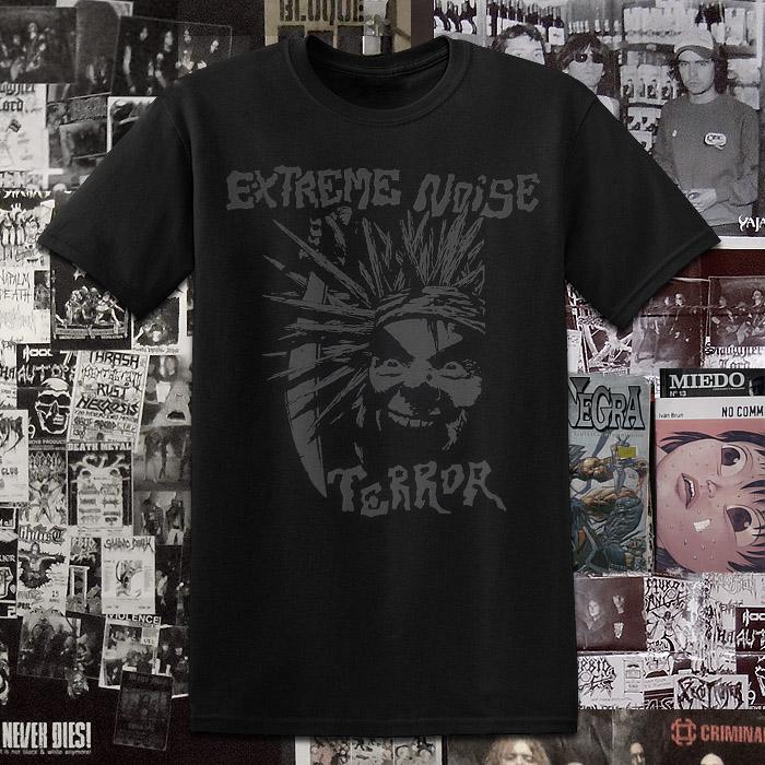 Polera Serigrafia Extreme Noise Terror