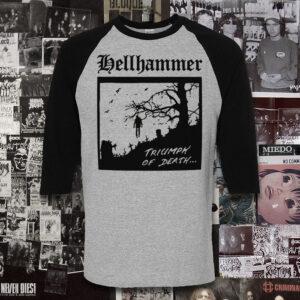 Polera Hellhammer Serigrafía