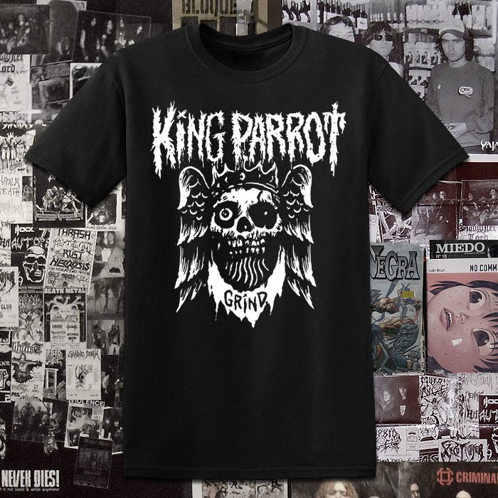 Polera Serigrafia King Parrot