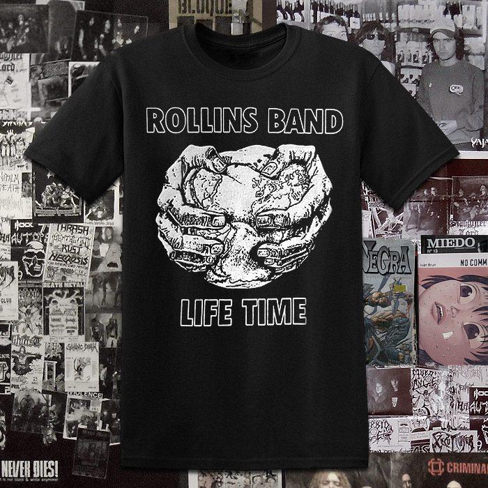Polera Rollins Band Serigrafia