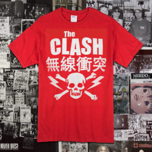Polera serigrafia The Clash