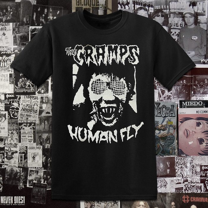 Polera Serigrafia The Cramps