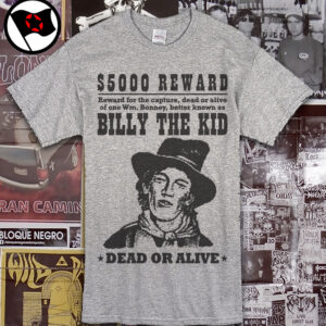 BILLY THE KID – Dead or alive