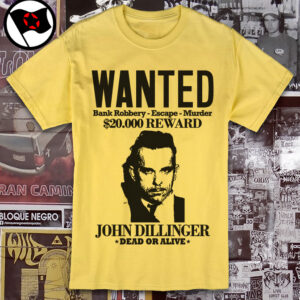JOHN DILLINGER – Bank robbery, escape, murder