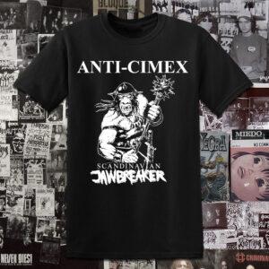 Polera serigrafia Anti-Cimex