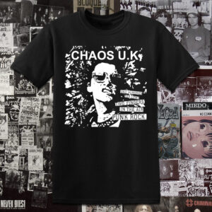 Polera serigrafia Chaos UK