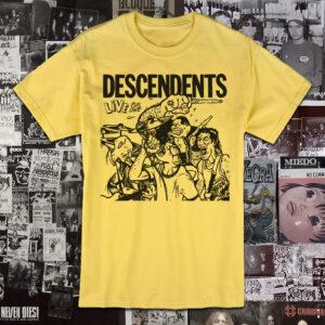 Polera serigrafia Descendents Live Plus One