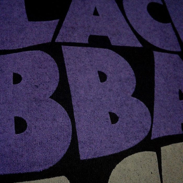 Polera serigrafia Black Sabbath