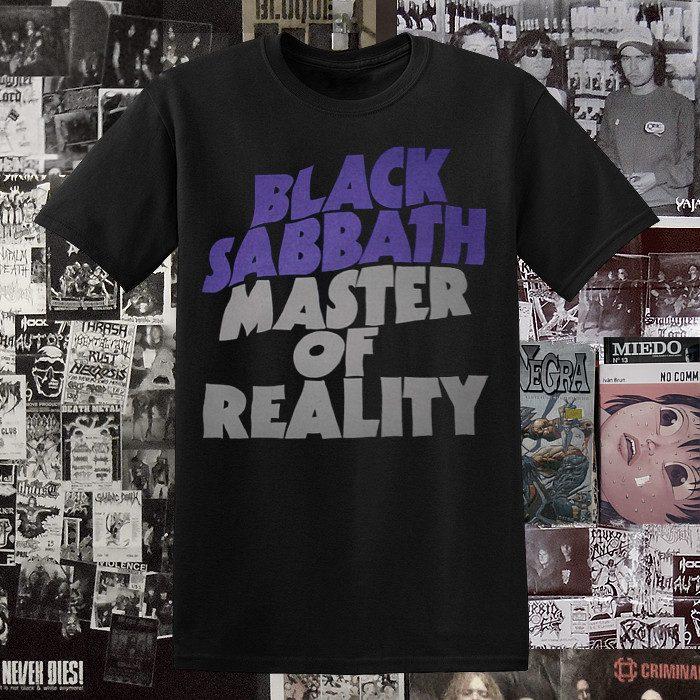 Polera Black Sabbath Serigrafia