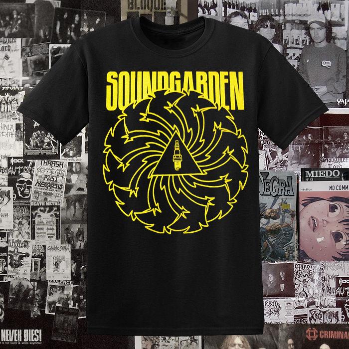 Polera Soundgarden Badmotorfinger
