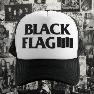 Gorro Trucker Black Flag