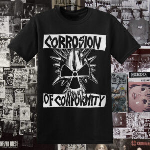 Polera Corrosion of Conformity Serigrafía