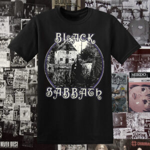 Polera Black Sabbath Evil Woman