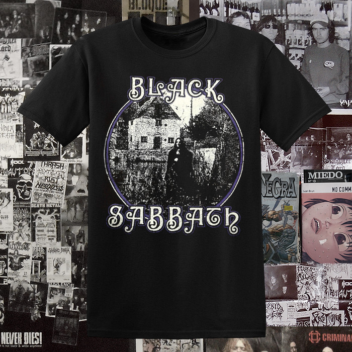 Polera Black Sabbath Evil Woman